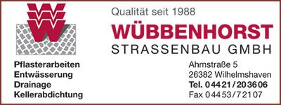 Wuebbenhorst Straßenbau