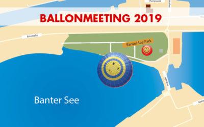 Das Ballonmeeting findet 2019 erneut im Banter See Park statt